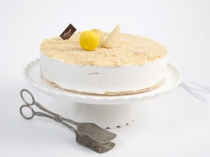 עוגת גבינה קרה פירורים