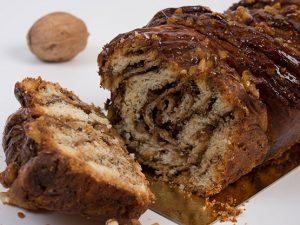 עוגת שמרים נוגט אגוזים