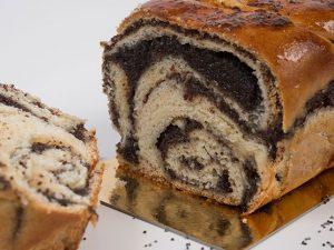 עוגת שמרים פרג
