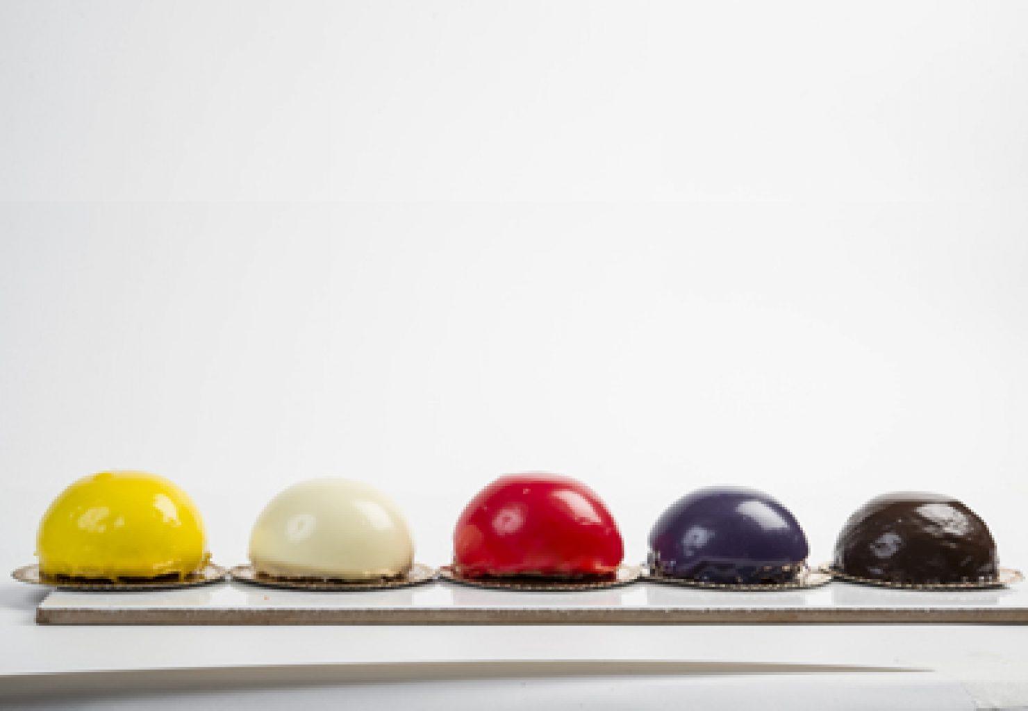 שוקולד, פטל, מרנג, אוכמניות