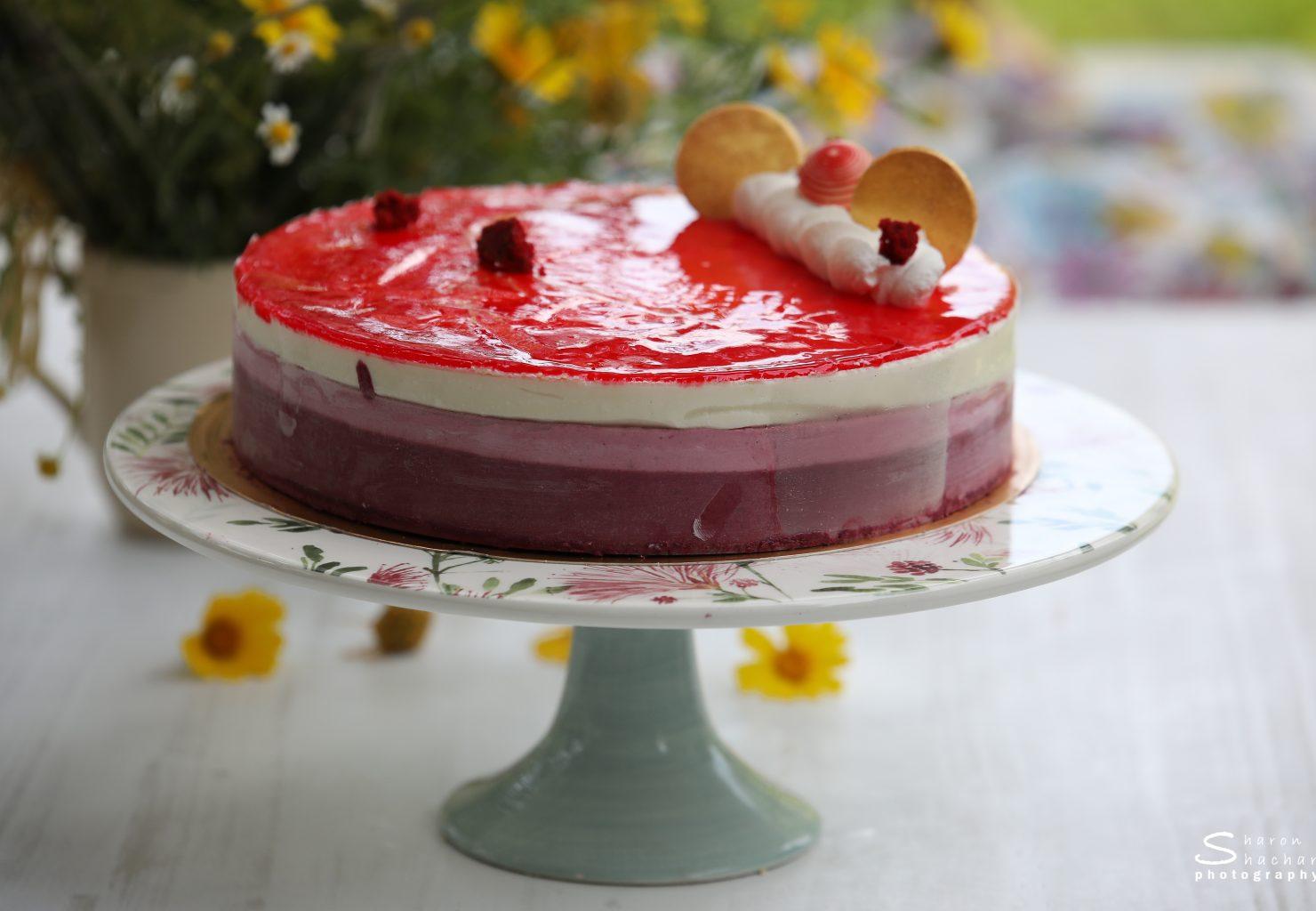 עוגת מוס מדונה